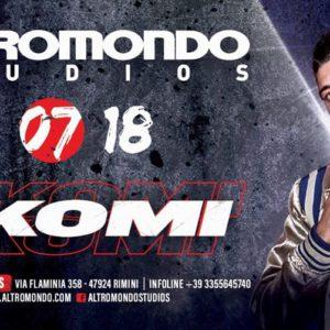 Il talento Rkomi si mette alla prova all'Altromondo Studios