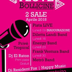 Diletta Landi Band protagonista all'inaugurazione del Bollicine Riccione