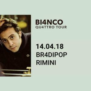 Bi4nco in tour al Bradipop Rimini