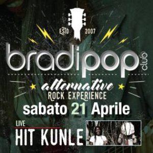 Hit Kunle portano un pizzico di Afro Rock al Bradipop Rimini