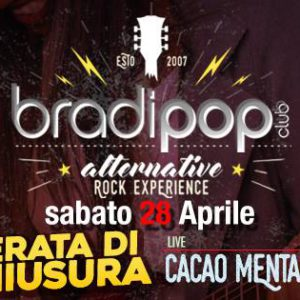 Festa di chiusura con i Cacao Mental al Bradipop Rimini