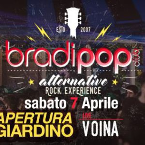 Inaugurazione giardino al Bradipop Rimini con i Voina