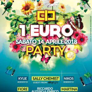 Party 1 euro al Classic Club
