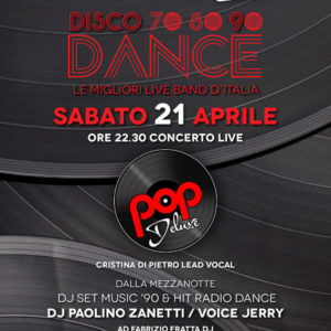 I Pop Delux in live al Frontemare Rimini