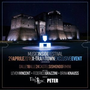 Music Inside Festival 2018 presenta X-TRA IN TOWN