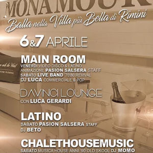 Weekend di musica live al Monamour Rimini