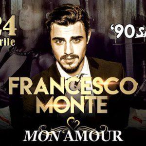 Francesco Monte ospite al Mon amour Rimini