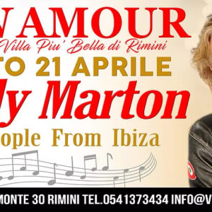 Un po' di anni 80 con Sandy Marton al Monamour Rimini