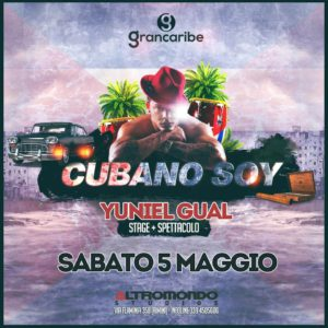 All'Altromondo Studios torna Cubano Soy con Yuniel Gual