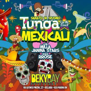 Tunga on the Beach arriva al Beky Bay