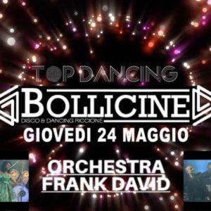 Orchestra Frank David ti aspetta al Bollicine Riccione