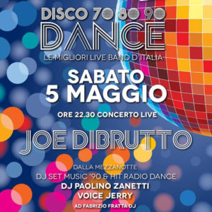 I Joe dibrutto in live al Frontemare Rimini
