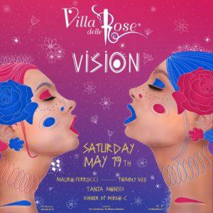 Sabato Vision alla Villa delle Rose con Tommy Vee