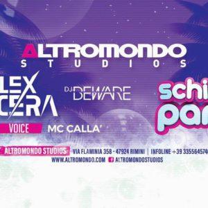 Alex Nocera inaugura il mercoledì Schiuma Party all'Altromondo Studios