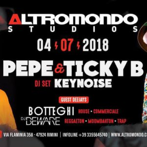 Concerto esclusivo di Ticky B. all'Altromondo Studios.