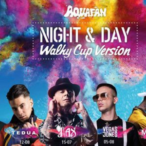 Vegas Jones e Mr. Rain in arrivo all'Aquafan Riccione