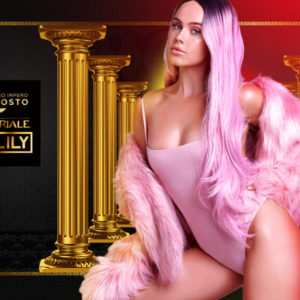 La sexy Dj Tigerlily protagonista al lunedì Baia Imperiale