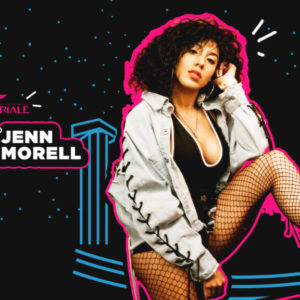 La bomba sexy Jenn Morel ti aspetta alla Baia Imperiale con il tuo rap