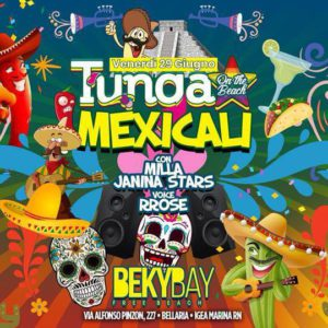 Beky Bay Bellaria ti aspetta per la festa TUNGA on the beach