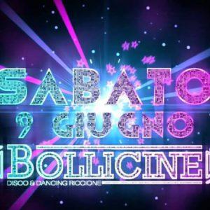 Sabato revival al Bollicine Riccione