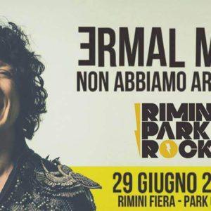 Ermal Meta in concerto al Rimini Park Rock