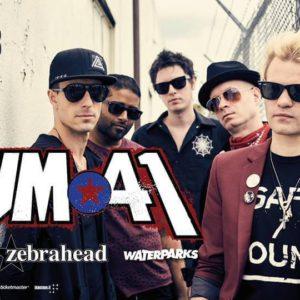 I Sum41 in concerto al Rimini Park Rock