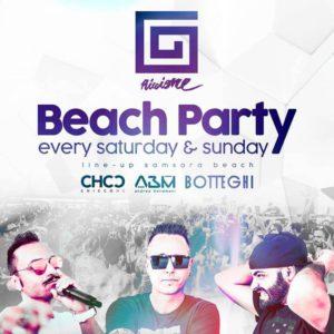 Domenica in spiaggia al Samsara Riccione per il Beach Party