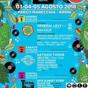 La follia è iniziata. Tiberio Music Festival 2018