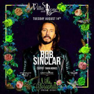 Ferragosto Villa delle Rose con Bob Sinclar