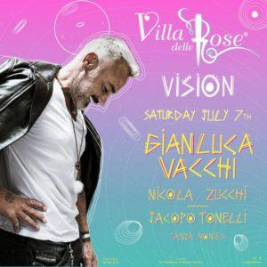 Gianluca Vacchi stravolge la Villa delle Rose