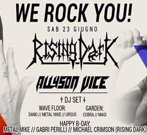 Rising Dark e Allyson Vice si scatenano al Wave Misano