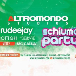 Grande festa all'Altromondo Studios con Rudeejay e Schiuma Party