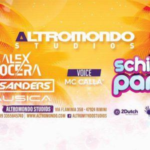 Schiuma party Altromondo Studios con Alex Nocera e Nausica