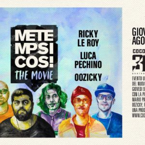 Cocorico Riccione presenta Metempsicosi The Movie