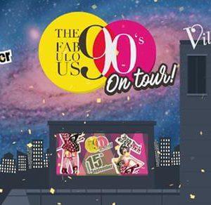 The Fabulous 90's alla Villa delle Rose. La magia degli anni 90 protagonista del sabato sera