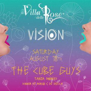 The Cube Guys si scatenano alla Villa delle Rose