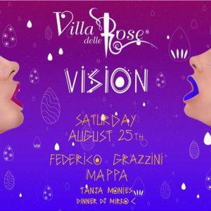 Federico Grazzini ritorna a far festa alla Villa delle Rose