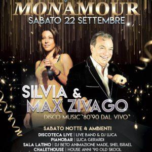 La magia degli anni 80 arriva al Mon Amour con Silvia & Max Zivago