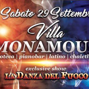 La Danza del Fuoco al Mon Amour Rimini
