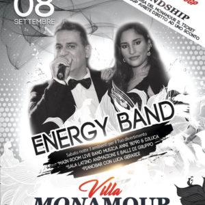 Energy Band anima l'ultimo sabato d'estate al Mon Amour