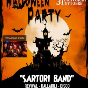 Halloween Party al Bollicine Riccione