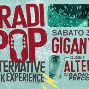 Gigante in live al Bradipop Rimini