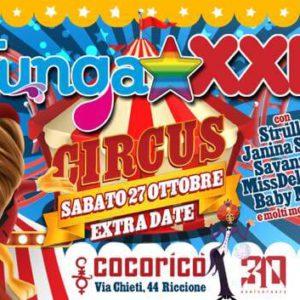 Il Tunga XXL torna al Cocorico Riccione