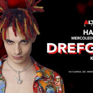 DrefGold in concerto per Halloween all'Altromondo Studios