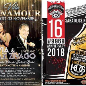 Silvia e Max Zivago in live al Monamour Rimini