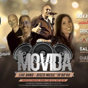 I Movida in live al Monamour Rimini