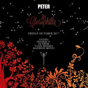 Il venerdì Glamour del Peter Pan Riccione è Clorophilla