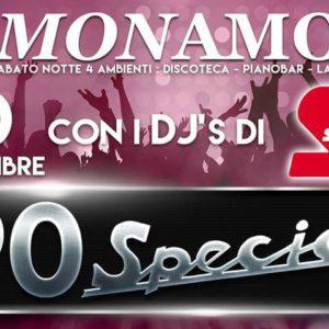 Special anni 90 al Monamour Rimini