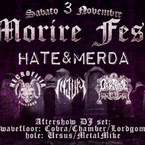 Wave Club presenta Morire Fest
