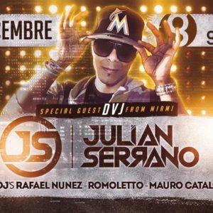 Julian Serrano anima il nuovo sabato Grancaribe all'Altromondo Studios